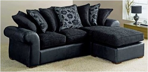 Home furniture blogs hybrid sofas photos for Black fabric couches