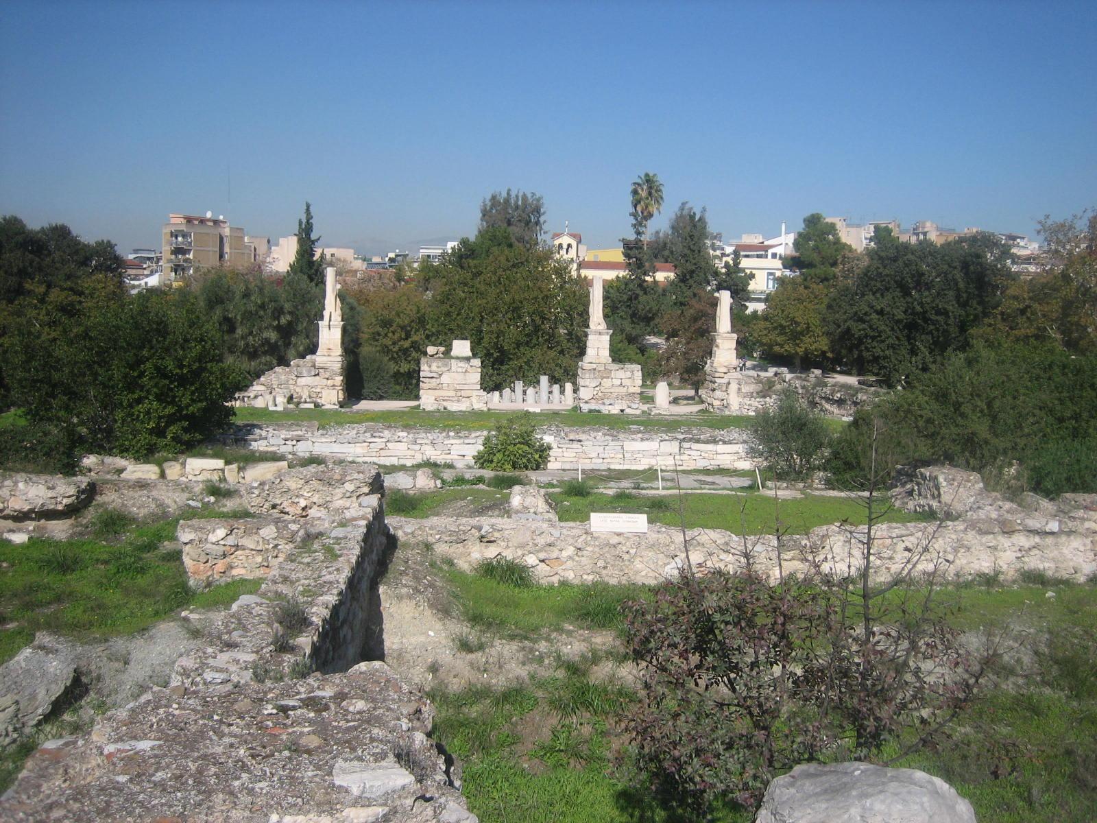 V is for Vagabond: Ancient Agora