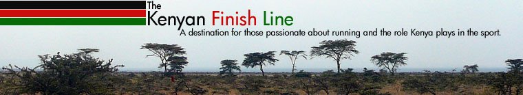 The Kenyan Finish Line