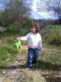 Minha neta Carolina - 3 anitos