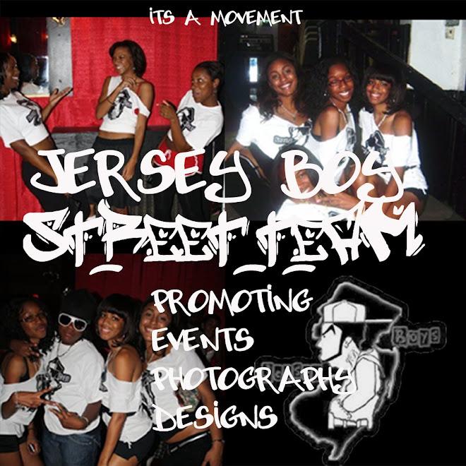 JERSEY BOY STREET TEAM