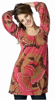 Long Sleeve Printed Top | Veronica M | Designer | Fashion | Clothing | Womens | Teen