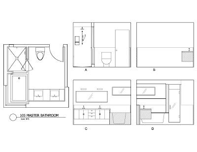 unit 105 Master Bathroom design