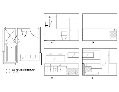 unit 105 Master Bathroom design