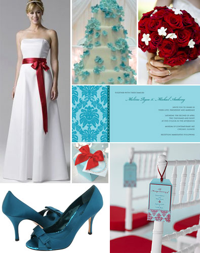 I 39m currently loving turquoise and red together especially for brides