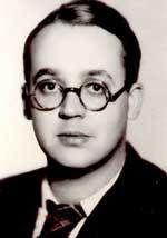 Robert Brassilach joven escritor Frances