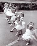 Quero ser a expressão da dança celestial!