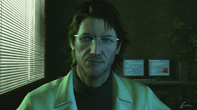 Otacon from Metal Gear Solid 4: Observe the Facial Rendering