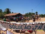 Movimento de paralisação das eólicas no Cumbe - setembro 2009