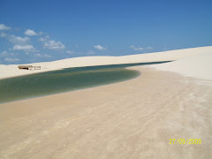 Vista da lagoa do murici nas dunas do Cumbe