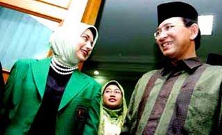 Surya Dharma Ali Ketum PPP dan Marissa Haque Fawzi