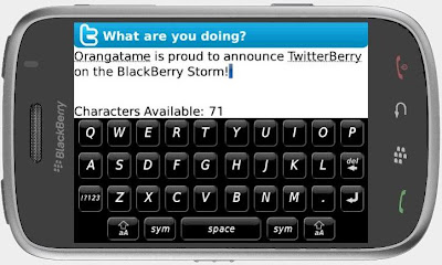 The Realty Buzz - Tweet from Your New Blackberry Storm