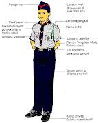Uniform Lengkap Pengakap Muda