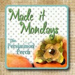 The Persimmon Perch - Monday