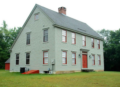 The laurel hedge sweet saltboxes for New england colonial house plans