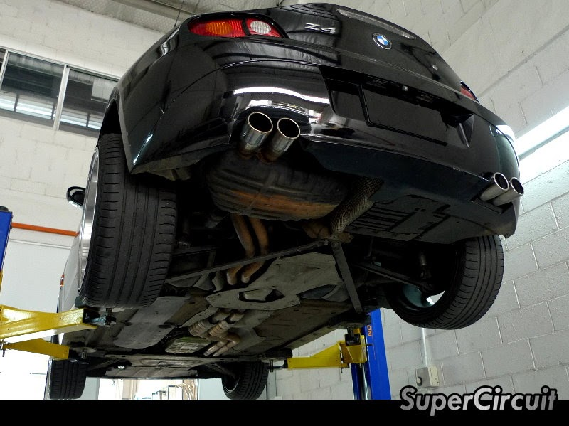 Supercircuit Exhaust Pro Shop Bmw Z4 X Supercircuit Extractor
