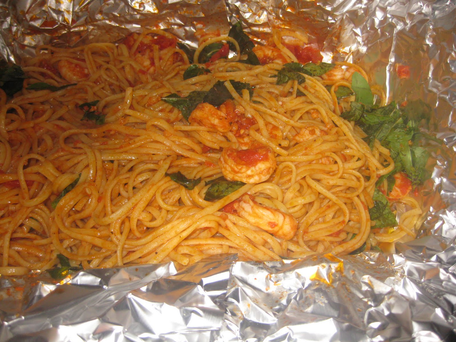 ... with shrimp the shrimp pasta in a foil shrimp pasta in a foil package