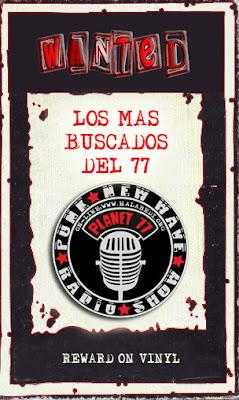 LOS MÁS BUSCADOS DEL '77
