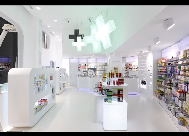 Modern Pharmacy Design | Fresh Furniture