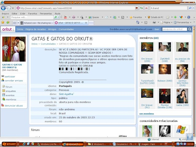 Eleição Gatas e Gatos do Orkut
