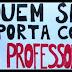 """Professores de Limoeiro """"cruzam os braços"""" para pedir melhorias na educação municipal"""