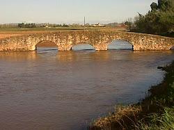 Puente de la Reina, río Azuer.