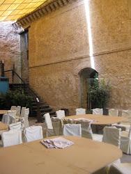 En el interior del Castillo hay muy buena restauración.