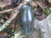 old milk bottle...