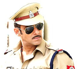 Salman Khan's Twitter magic for Dabangg