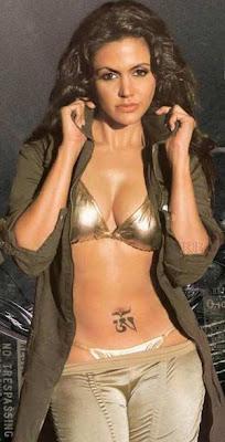 Mandira Bedi endorses lingerie brand