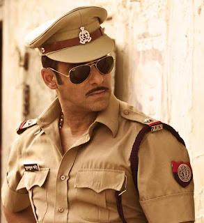 Salman Khan in Dabangg: A corrupt rural cop