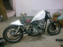 OmenChoppers/CB500 cafe racer in progress FOR SALE