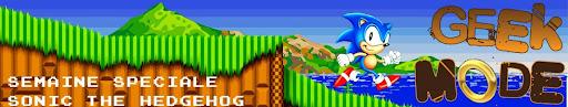 Bannière de la semaine spéciale Sonic the Hedgehog