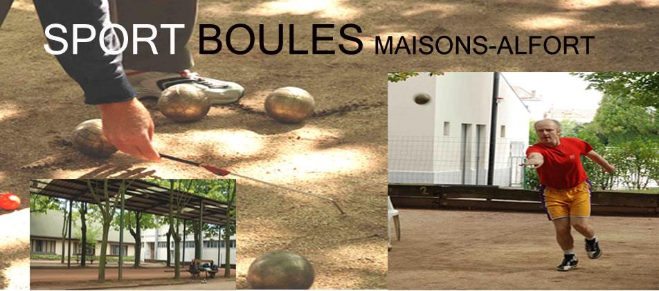 Sport Boules Maison Alfort