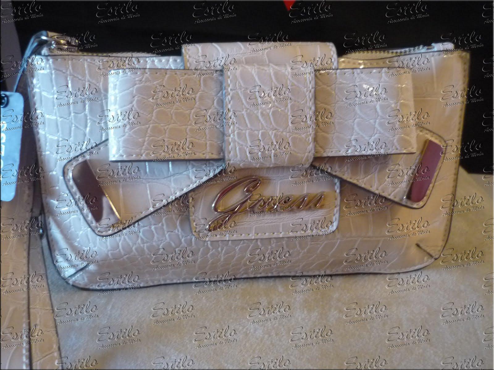 Bolsa De Mão Estilo Carteira : Bolsa carteira la?o guess estilo assessoria de moda