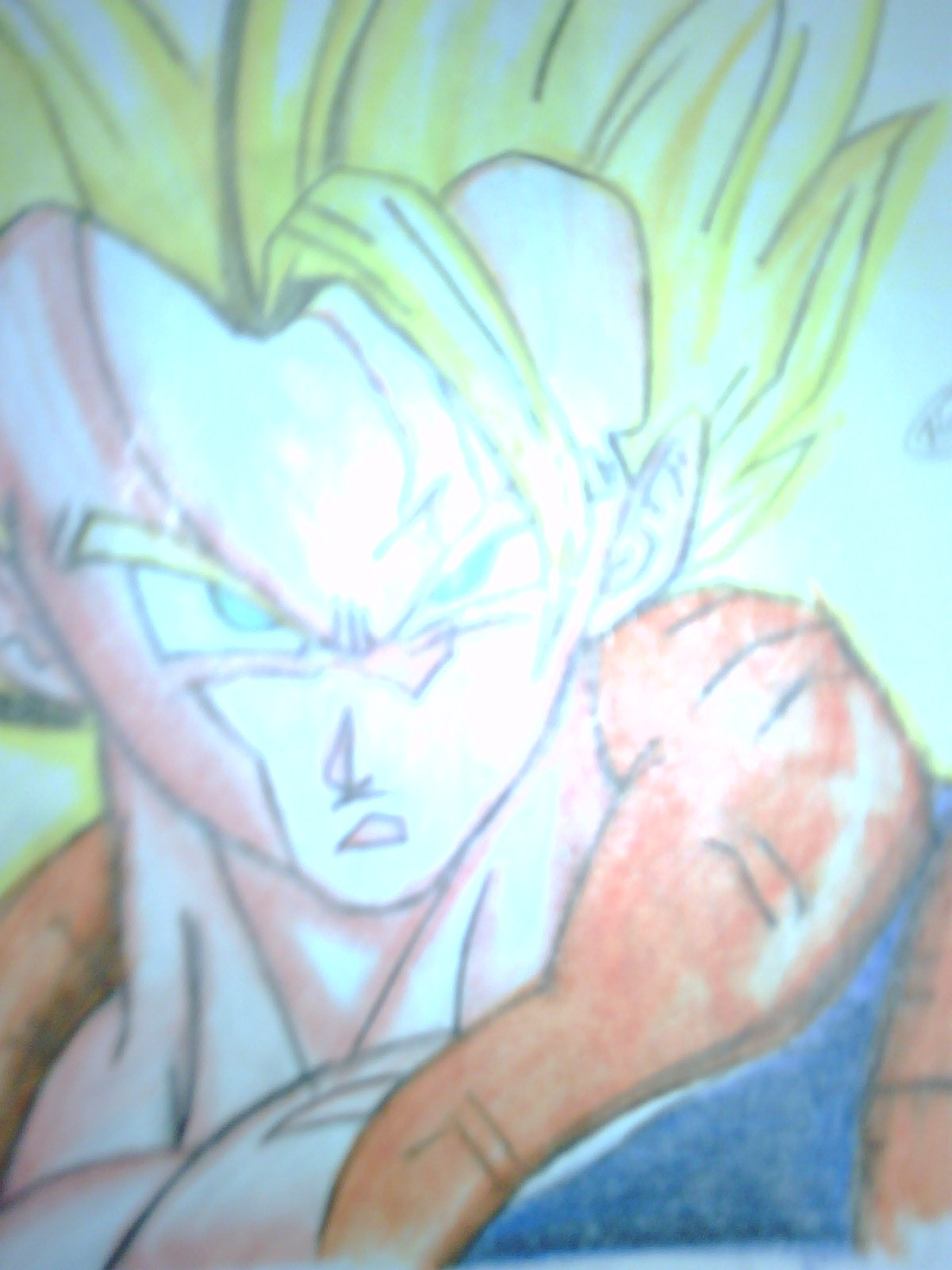 muchos dibujos de dragon ball z a color