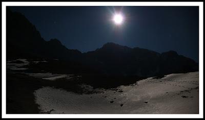 Luna sobre Ubiña