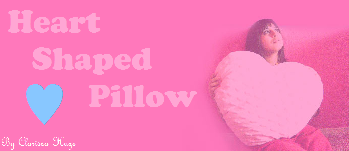 Heart Shaped Pillow {Welcome to my life}