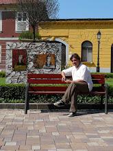 """"""" Aranykor """" Installáció , Váci Világi Vígalom , 2008.  Kettős Tamás - Cs. Nagy András - CSNB"""