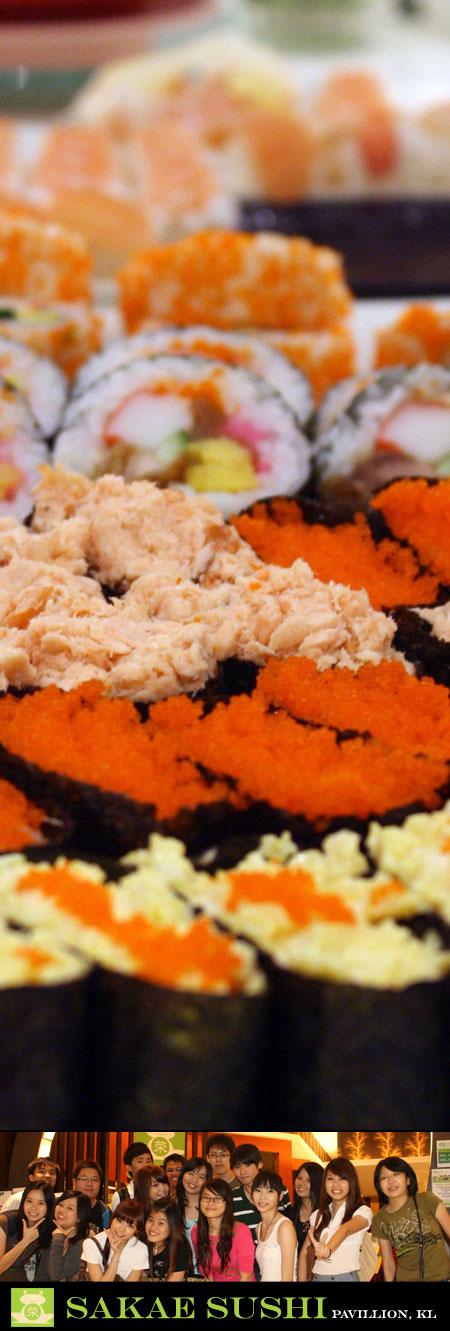 sakae sushi buffet pavillion kl 2