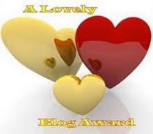 Τριτο βραβειο ...(lovely blog award)