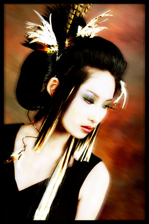japanese art geisha. Geisha Makeup How To