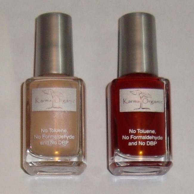 One Girl\'s Passion For Makeup: Review: Karma Organic Spa Nail Polish