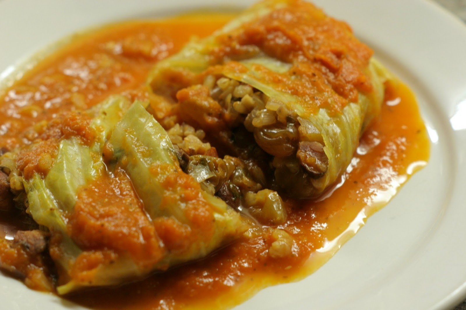 Four seasons of food: Stuffed cabbage leaves