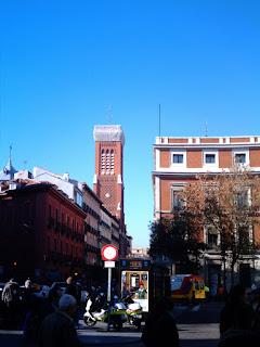 Torre de la iglesia de la Santa Cruz