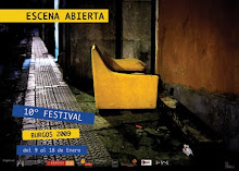 Cartel Escena Abierta 2009
