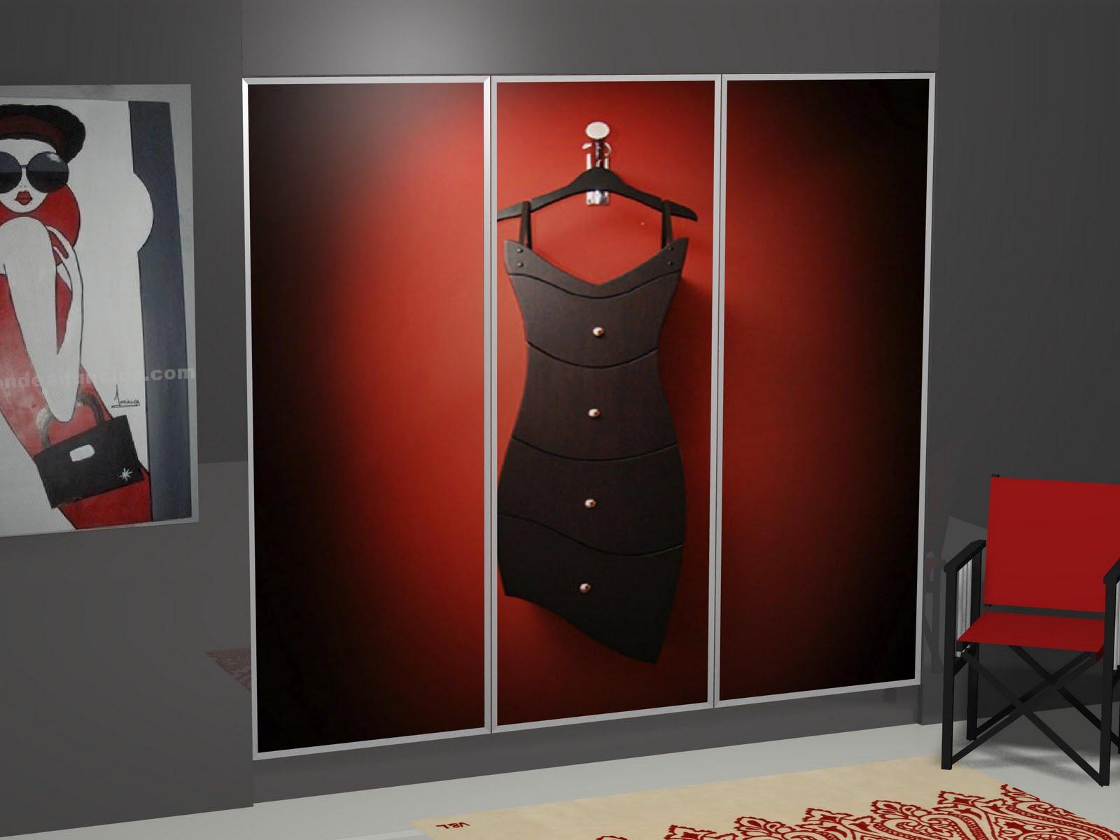 Dise o de armario personalizado for Armarios empotrados de diseno