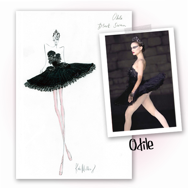 black swan ballerina costume. lack swan ballerina costume.