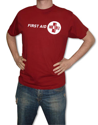 Camiseta exclusiva first aid kit la segunda planta