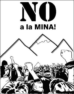 NO ES NO-NO A LA MINA